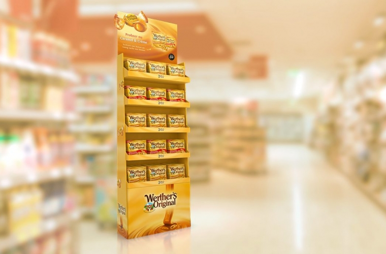 Werthers Original - CommunicationShopper activationPackaging Design