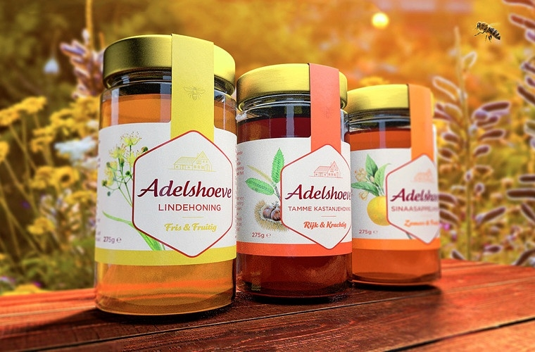 Adelshoeve honing - BrandingPackaging Design
