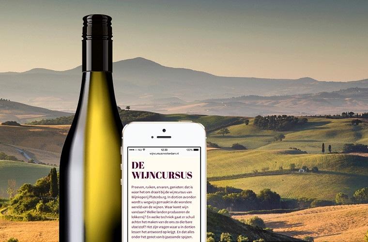 Wijncursus Platenburg in Rotterdam - Digital