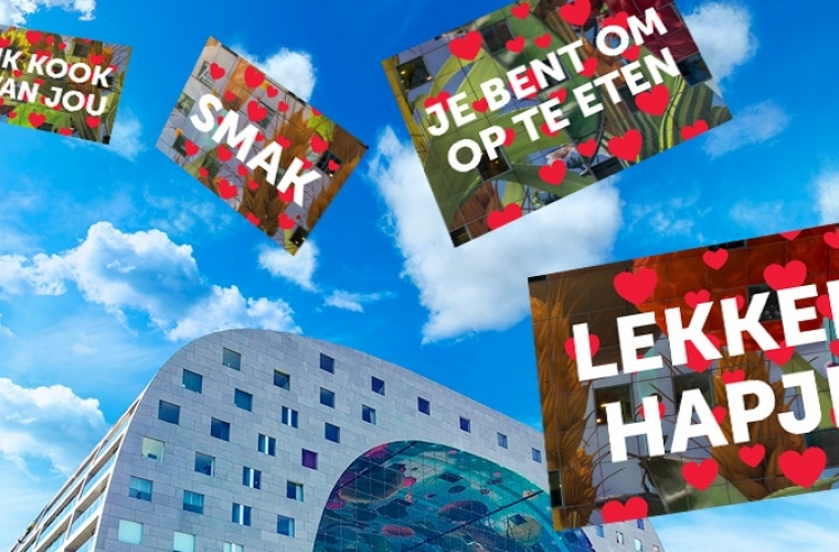 Markthal Valentijnsdag - Shopper activation