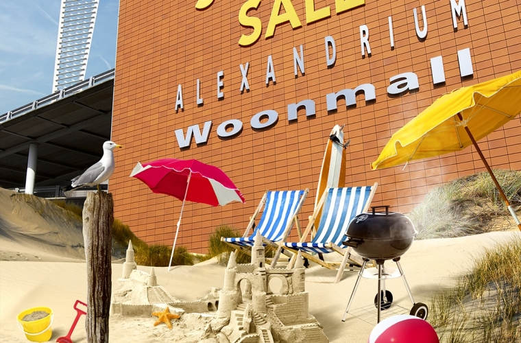 Alexandrium Woonmall  - BrandingCommunicationShopper activationDigital